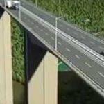 Radovi na mostu  Moračica