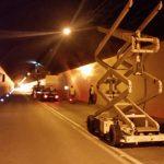 Radovi u tunelu Ras